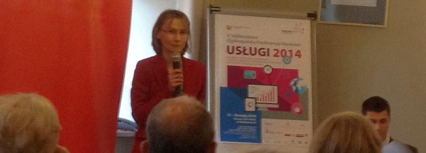 Jubileuszowa Konferencja Naukowa USŁUGI 2014